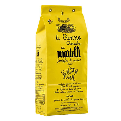 Penne Tuscan Pasta Martelli - 500gr
