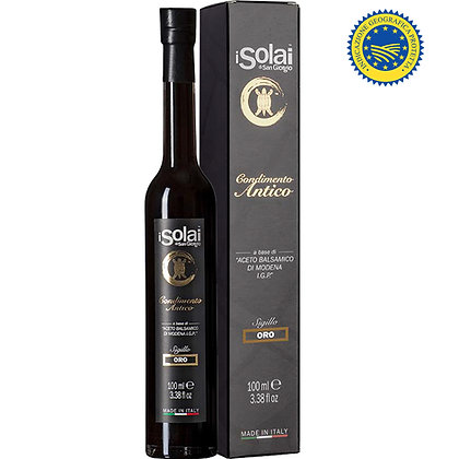 Ancient Condiment with Balsamic Vinegar of Modena IGP Oro I Solai - 100ml