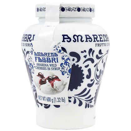 Amarene Fabbri Cherry in Syrup (ceramic jar) - 600gr
