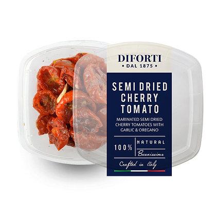 Semi-dried Cherry Tomato with garlic and oregano Diforti - 200gr