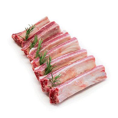 Pork Ribs FZ -  portioned 6 ribs - 600gr
