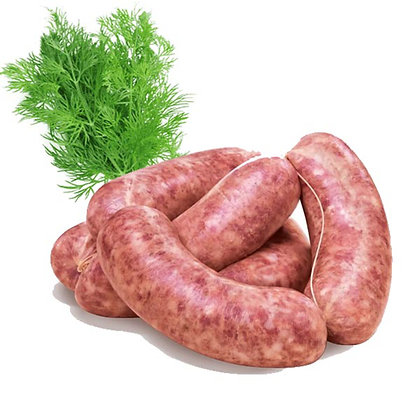 "Sausage ""Salamella"" with fennel seeds FZ - 5 pcs x 120gr each - 600gr"