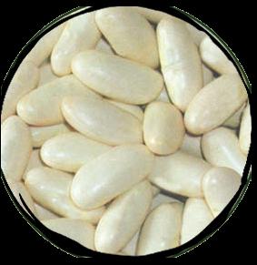 White Kidney Dry Beans - 500gr