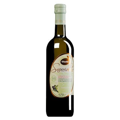 "E.V.O. Oil ""Snocciolato"" from pitted olives Giachi (Tuscany) - 750ml"