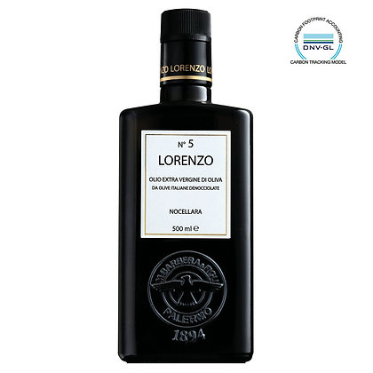 E.V.O. Oil Lorenzo N.5 (Sicily) - 500ml