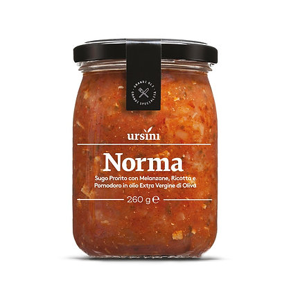 Norma Sauce with Eggplants and Ricotta Ursini - 260gr