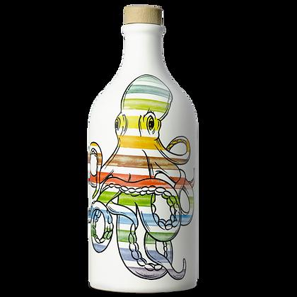 E.V.O. Oil Coratina Intense Fruity OCTOPUS POP ART Muraglia (Puglia)- 500ml