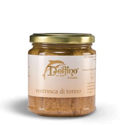 Ventresca Tuna Belly in Olive Oil brand Delifino (Cetara) - 300gr