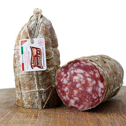 Nostrano Salami Half Cured Coarse Grain La Futura - 500gr