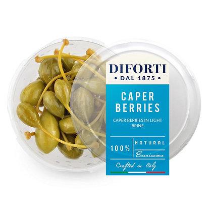 Caper Berries with stem Diforti - 180gr