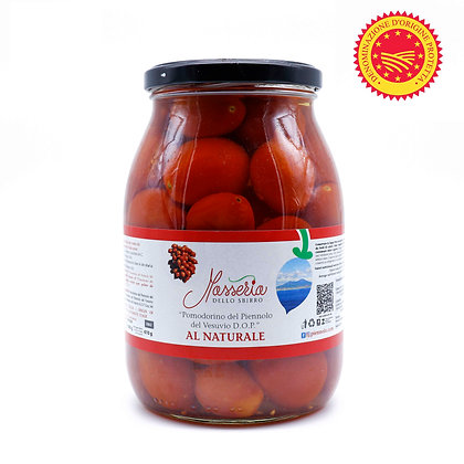 Piennolo del Vesuvio Tomato DOP in Its Water - 1kg net (610gr drained)