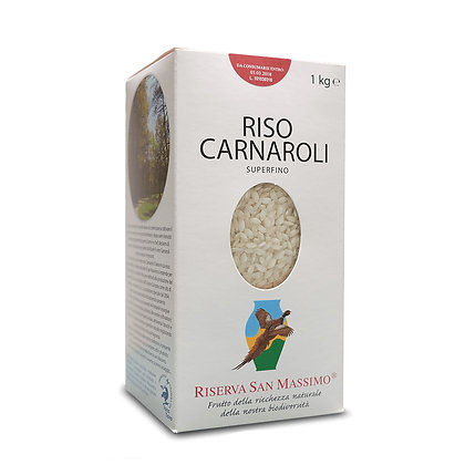 Rice Carnaroli Superfino Riserva San Massimo - 1KG