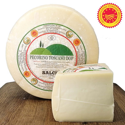 Pecorino Toscano DOP (not aged) Salcis - 300gr