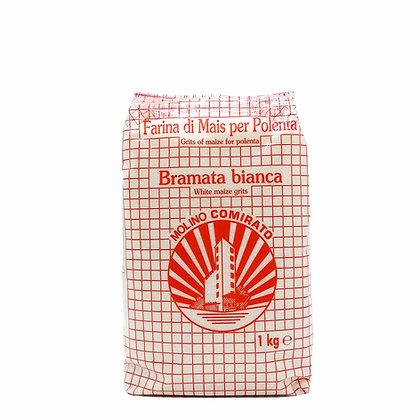 Flour Bianca Bramata white coarse grain Molino Comirato - 1kg