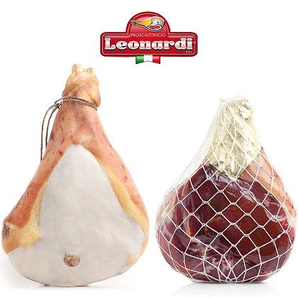 Prosciutto Nostrano 100% Italian Cured Ham Leonardi - 100gr