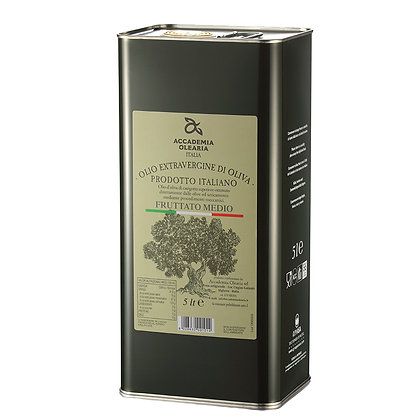 E.V.O. Oil Fruttato Medio Accademia Olearia (Sardinia) - 5 Liter