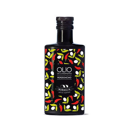"E.V.O. Oil ""Peperoncino"" Aromatic Spicy Muraglia - 200ml"