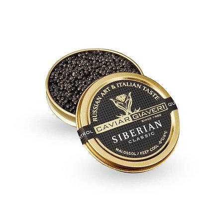 Caviar Siberian Classic Giaveri - 50gr