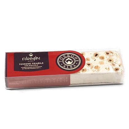 Torrone Crunchy Nougat with Piedmont Hazelnut IPG Relanghe - 125 gr
