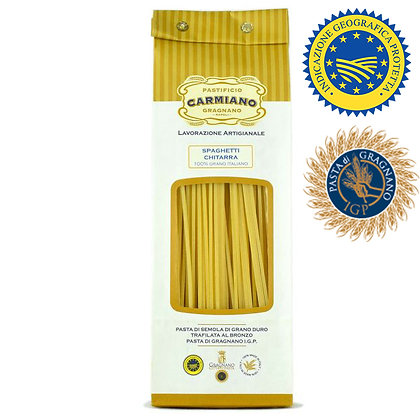 Spaghetti Chitarra Pasta di Gragnano Carmiano IGP - 500gr