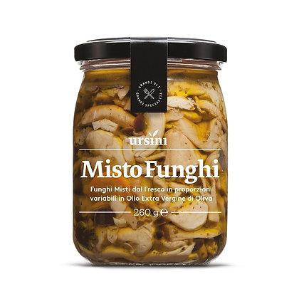 Mixed Mushrooms in E.V.O. Oil Ursini - 260gr