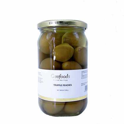 Truffled Peaches Geofoods - 500gr