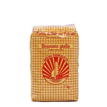 Flour Gialla Bramata yellow coarse grain Molino Comirato - 1kg