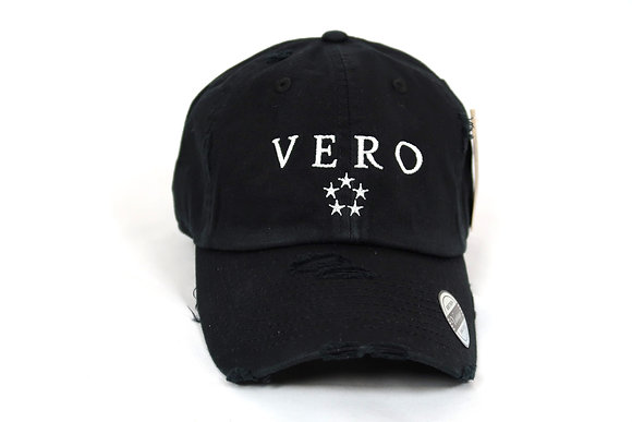 Black Vero Dad Hat