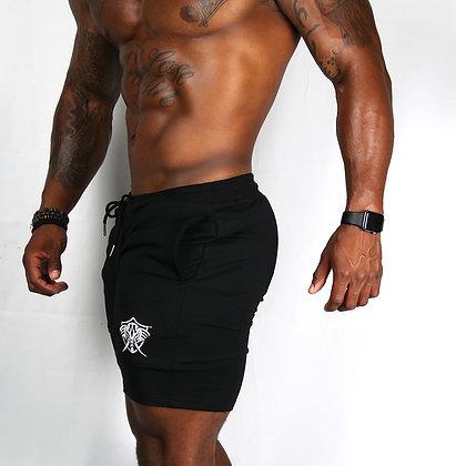 "Black Vero Mastodon Iconic ""Leg Day"" Dry Fit Sports Shorts"