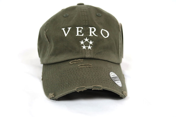 Olive Vero Dad Hat