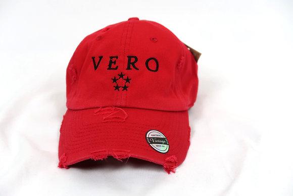 Red Vero Dad Hat