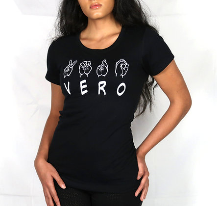 "Female ""VERO SIGN"" Tee"