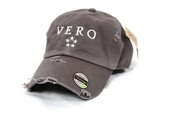 Grey Vero Dad Hat