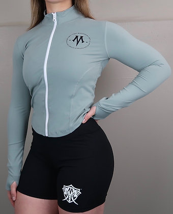 Women's Vero Constellation Grey Athletic Dry Fit Fitness Jacket