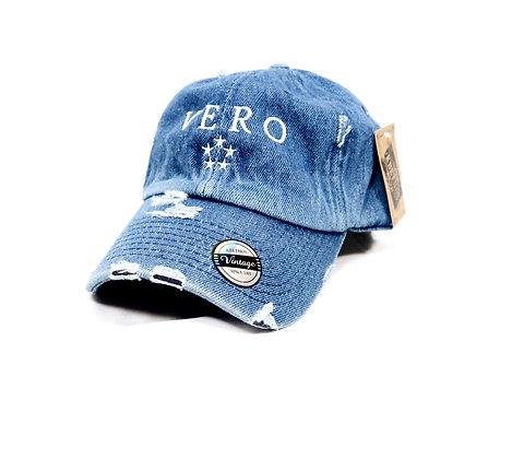 Denim Vero Dad Hats