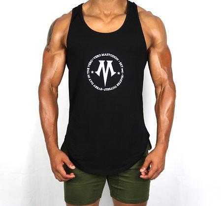 Men's Vero ConstellationMuscleBlack Tank Top