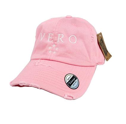 Pink Vero Dad Hat
