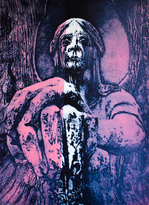 Angel of Death Pink and Blue