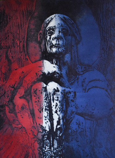 Angel of Death Red Blue