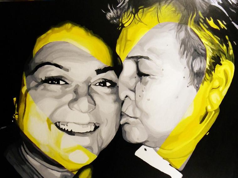 Margie and Linda