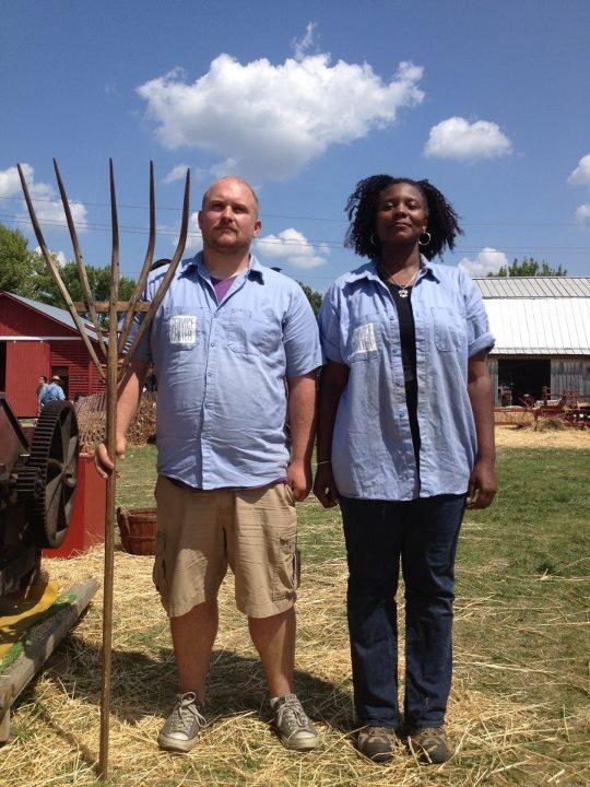 American Gothic Art Farm Style