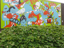 Mural with Sweet Potatoes
