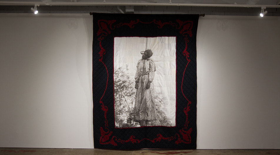 Quilt I, Her Name was Laura Nelson