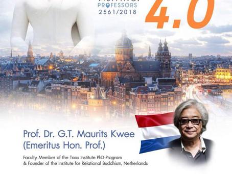 Buddhism 4.0 Visiting Professor 2018