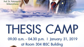 IBSC Thesis Camp 2019
