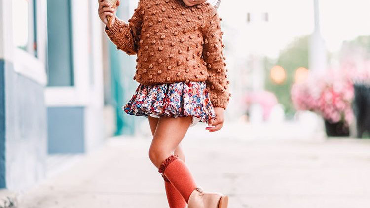 Woven Nudie Leather Boot for Kids