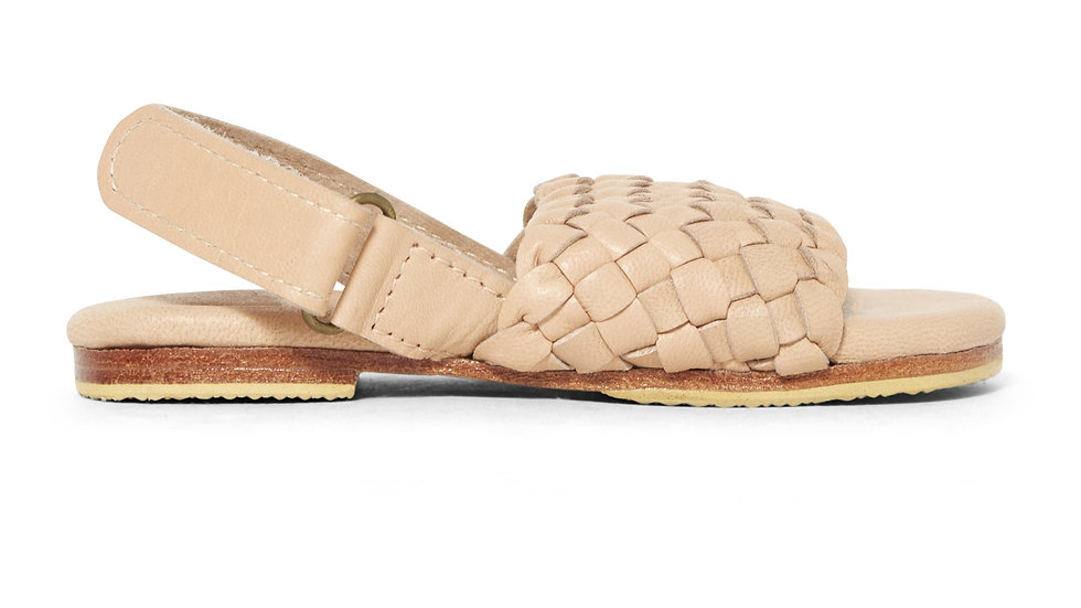 Little Gypsy Woven Leather Sandal