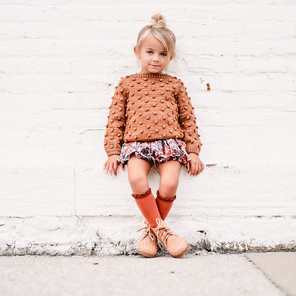 Woven Leather Boot for Kids