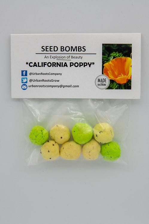 California Poppy Seed Bombs - packet