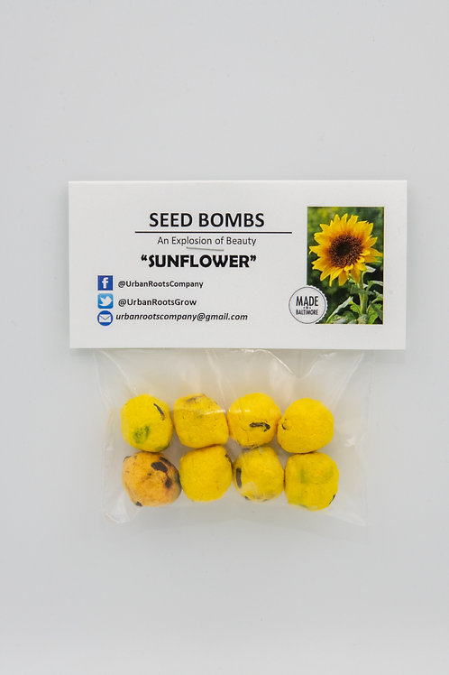 Sunflower Seed Bombs - packet